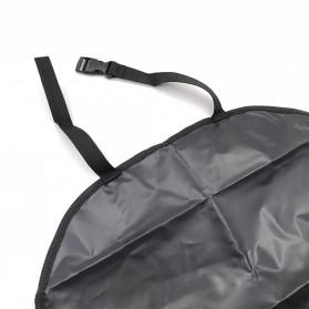 GEONYIEEK Alas Kursi Belakang Mobil Car Backseat Cover Protection - GE2016 - Black - 6
