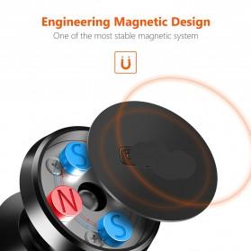 TORRAS 360 Degree Smartphone Car Holder Magnetic - LP120 - Black - 2