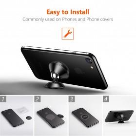 TORRAS 360 Degree Smartphone Car Holder Magnetic - LP120 - Black - 4