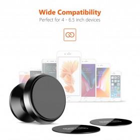 TORRAS 360 Degree Smartphone Car Holder Magnetic - LP120 - Black - 5