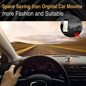 TORRAS 360 Degree Smartphone Car Holder Magnetic - LP120 - Black - 6