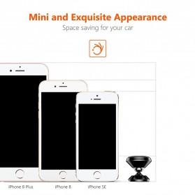 TORRAS 360 Degree Smartphone Car Holder Magnetic - LP120 - Black - 7