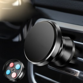 TORRAS 360 Rotation Smartphone Air Vent Car Holder Magnetic - V9 - Black