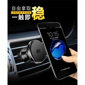 TORRAS 360 Rotation Smartphone Air Vent Car Holder Magnetic - V9 - Black - 3