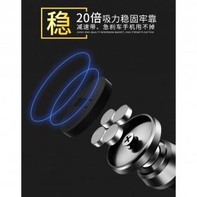 TORRAS 360 Rotation Smartphone Air Vent Car Holder Magnetic - V9 - Black - 4