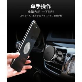 TORRAS 360 Rotation Smartphone Air Vent Car Holder Magnetic - V9 - Black - 5