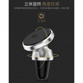 TORRAS 360 Rotation Smartphone Air Vent Car Holder Magnetic - V9 - Black - 7