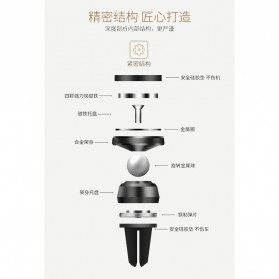 TORRAS 360 Rotation Smartphone Air Vent Car Holder Magnetic - V9 - Black - 10