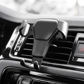TORRAS Smartphone Air Vent Car Holder - YC001 - Black