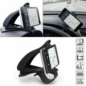 SEAMETAL Mount Holder Smartphone Mobil 360 Degree Rotation - C38587 - Black
