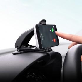 SEAMETAL Mount Holder Smartphone Mobil 360 Degree Rotation - C38587 - Black - 5