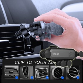This Is One Air Vent Universal Car Holder Gravity Sensing for Smartphone - CH0001 - Black
