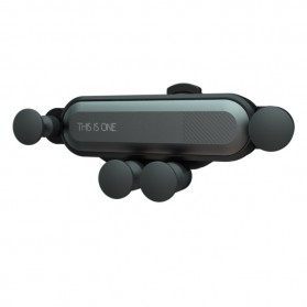 This Is One Air Vent Universal Car Holder Gravity Sensing for Smartphone - CH0001 - Black - 8
