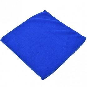 EACHGO Handuk Mikrofiber Lap Pengering Mobil 25 x 25 CM - WJJD201 - Blue - 9