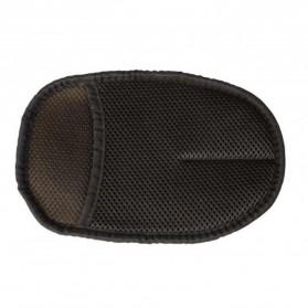 BU-Bauty Sarung Tangan Kain Lap Mobil Waxing Polish Gloves Wool - CSL2017 - Brown - 7