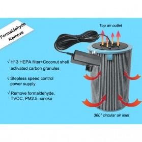 NOBICO DIY Xiaomi Air Purifier Pembersih Udara Purifier Cleaner HEPA Filter Formaldehyde  - JZ-DIYJF - Black - 2