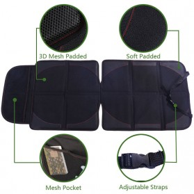 Vorcool Cover Jok Mobil Bayi Anti Air Car Baby Car Seat Mats - 2070937 - Black - 7