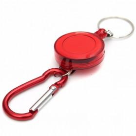 eTya Gantungan Kunci Anti Thief Retractable Telescopic Buckle Keychain - T001 - Multi-Color - 5