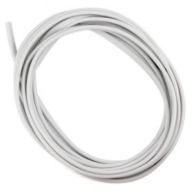 KAHNOS Rubber Strip Dekorasi Pintu Mobil Anti Collision 5M - QW557 - White - 2