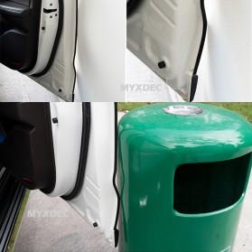 KAHNOS Rubber Strip Dekorasi Pintu Mobil Anti Collision 5M - QW557 - White - 5