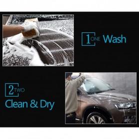 AUTO CARE Wax Plating Platinum Burnish Car Scratch Repair Agent Waterproof UV Coating with Sponge - H-1337 - Black - 7
