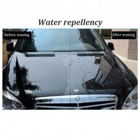 AUTO CARE Wax Plating Platinum Burnish Car Scratch Repair Agent Waterproof UV Coating with Sponge - H-1337 - Black - 9