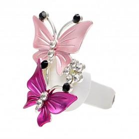 YOSOLO Parfum Mobil Air Vent Car Parfume Desain Kupu-Kupu - 14002 - Purple - 2