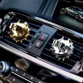 YOSOLO Parfum Mobil Air Vent Car Parfume Desain Bulldog - BDA-001 - Black - 2