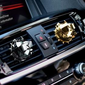 YOSOLO Parfum Mobil Air Vent Car Parfume Desain Bulldog - BDA-001 - Black - 4