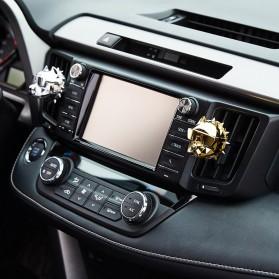 YOSOLO Parfum Mobil Air Vent Car Parfume Desain Bulldog - BDA-001 - Black - 5