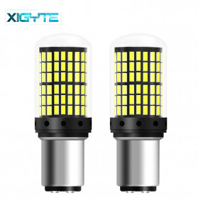 XIGYTE Car Steering Bulb Lampu Rem Mobil Anti-Strobe 144 Light 2000 Lumens 2 PCS -AHA0027 - White
