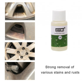 HGKJ Cairan Pembersih Velg Mobil Car Wheel Rim Cleaner 20ml  - HGKJ-14 - Green