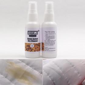 HGKJ Spray Cleaner Kain Jaket Down Jacket Dry Cleaner 50ml - HGKJ-1 - White - 8