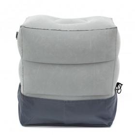 YMQY Bantal Angin Senderan Kaki Portable Inflatable Footrest Pillow - BAT24 - Black - 3