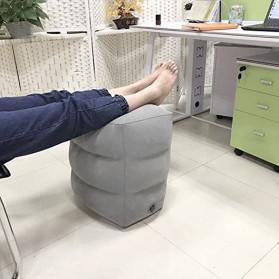 YMQY Bantal Angin Senderan Kaki Portable Inflatable Footrest Pillow - BAT24 - Black - 5
