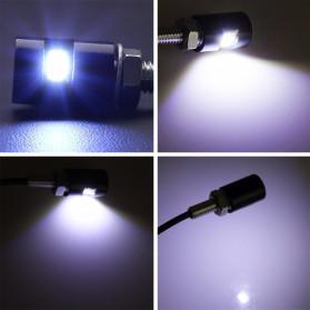 MALUOKASA Lampu Plat Motor LED SMD 5630 2 PCS - LM12 - Black - 5