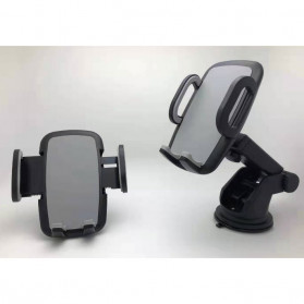 INIU Car Holder Smartphone Suction Cup - IN01 - Black - 2