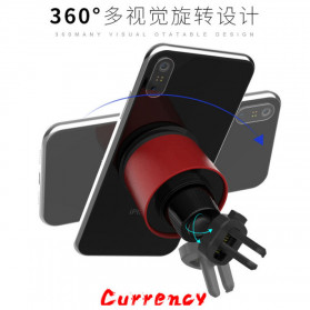 INIU Car Holder Smartphone Vaccum Holder Air Vent 2 in 1 - IN03 - Black - 6