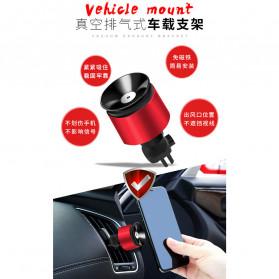 INIU Car Holder Smartphone Vaccum Holder Air Vent 2 in 1 - IN03 - Black - 8