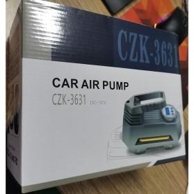 RUNDONG Inflator Pompa Angin Ban Mobil Portable Tire Pump 150 PSI  - CZK-3631 - Black - 8