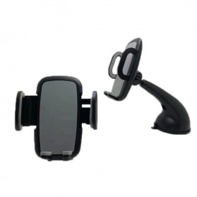 INIU Car Holder Smartphone Suction Cup - IN02 - Black - 2
