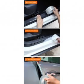 SEAMETAL Stiker Pelindung Mobil Car Scratchproof Protector Tape 50MM x 3M - C39906 - Transparent - 8