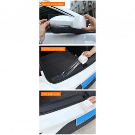 SEAMETAL Stiker Pelindung Mobil Car Scratchproof Protector Tape 50MM x 3M - C39906 - Transparent - 9