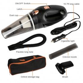 Autocatrbeaty Handheld Vacuum Cleaner Penyedot Debu Mobil 3500Pa 12V 90W -F0023 - Black - 3