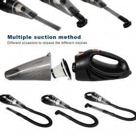 Autocatrbeaty Handheld Vacuum Cleaner Penyedot Debu Mobil 3500Pa 12V 90W -F0023 - Black - 4