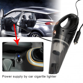 Autocatrbeaty Handheld Vacuum Cleaner Penyedot Debu Mobil 3500Pa 12V 90W -F0023 - Black - 6