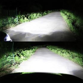 HAOSJ Lampu Mobil LED ZES Headlight 12000LM 55W 6000K H7 12V 2 PCS - K5 - Red - 3