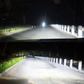 HAOSJ Lampu Mobil LED ZES Headlight 12000LM 55W 6000K H7 12V 2 PCS - K5 - Red - 4