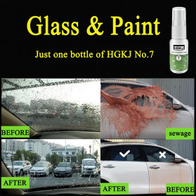 HGKJ Cairan Window & Paint Protective Hydrophobic Coating 50ml - HGKJ-7 - Black