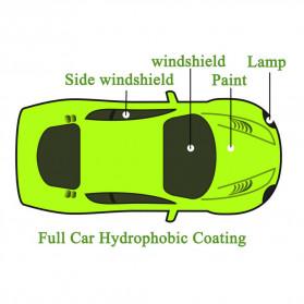 HGKJ Cairan Window & Paint Protective Hydrophobic Coating 50ml - HGKJ-7 - Black - 5